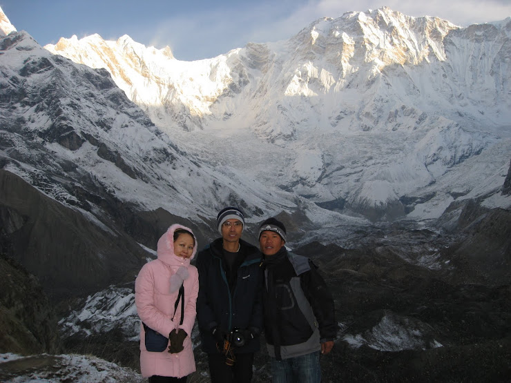We at Annapurna Base Camp-From HK