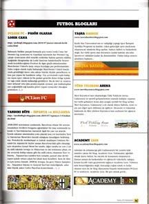 AcademyLion Galatasaray Dergisi'nde