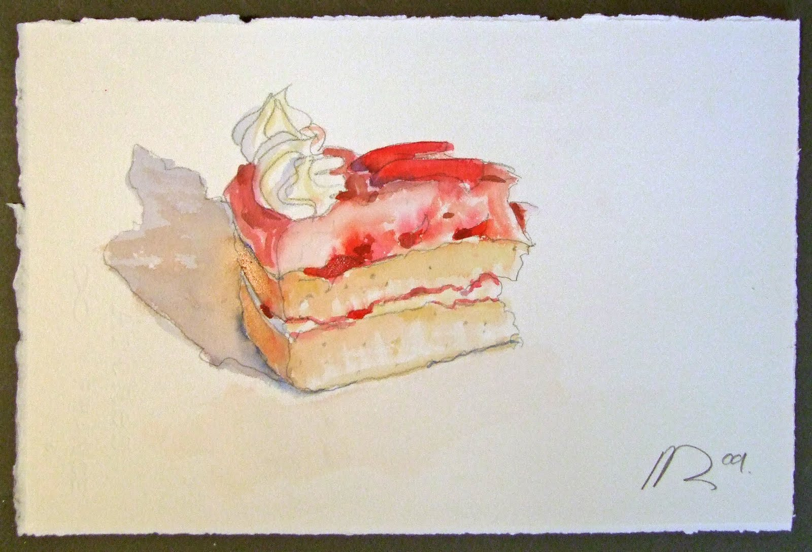 Dan Young Daily 1 Birthday Cake