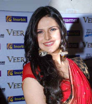 The Beautiful Zarine Khan