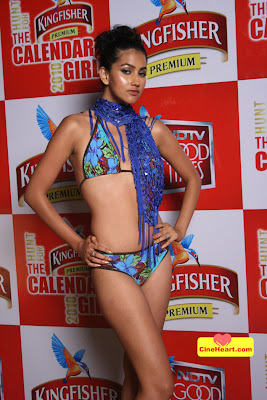 Winner of Kingfisher Bikini Babes Photos