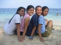 Tingko Beach, Alcoy, Cebu, Philippines - Pose
