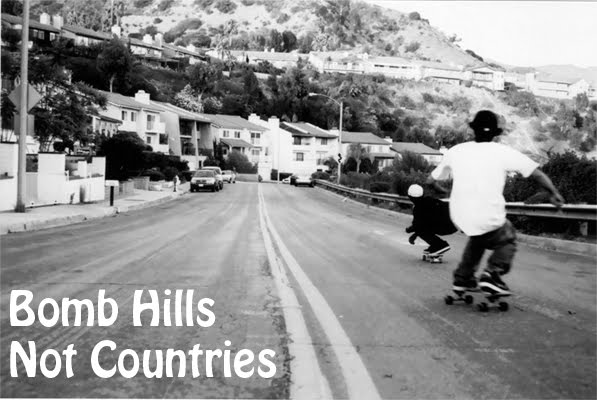 Bomb Hills Not Countries