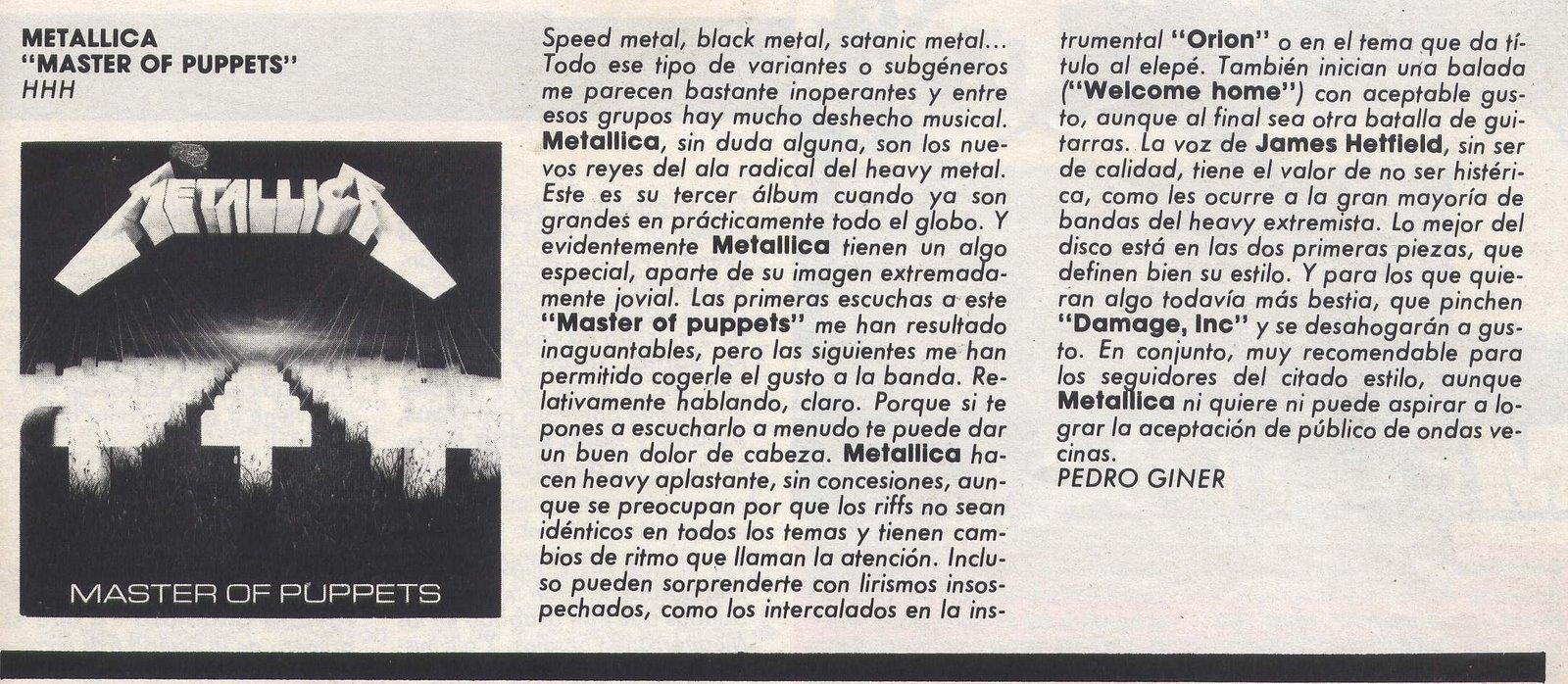 ¡HAS CAMBIADO TUS IDEAS POR SER UNO MÁS! (El topic de ÑU y José Carlos Molina). - Página 3 Critica+Master+na+Heavy%6086