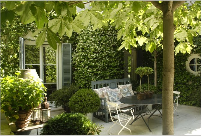 Decoracion terrazas y jardines - Decorar paredes de terrazas ...