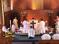 Fr. Bergman's First Mass