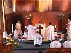 Fr. Bergman's First Mass