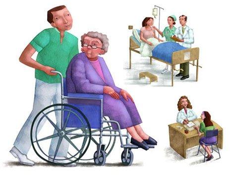 imágenes tradicionles, folleto derechos de la mujer en hospitales