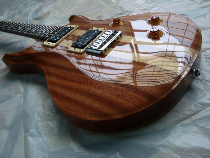 Pablo lojo luthier guitarra tipo prs construcci n necktru for Que es un luthier