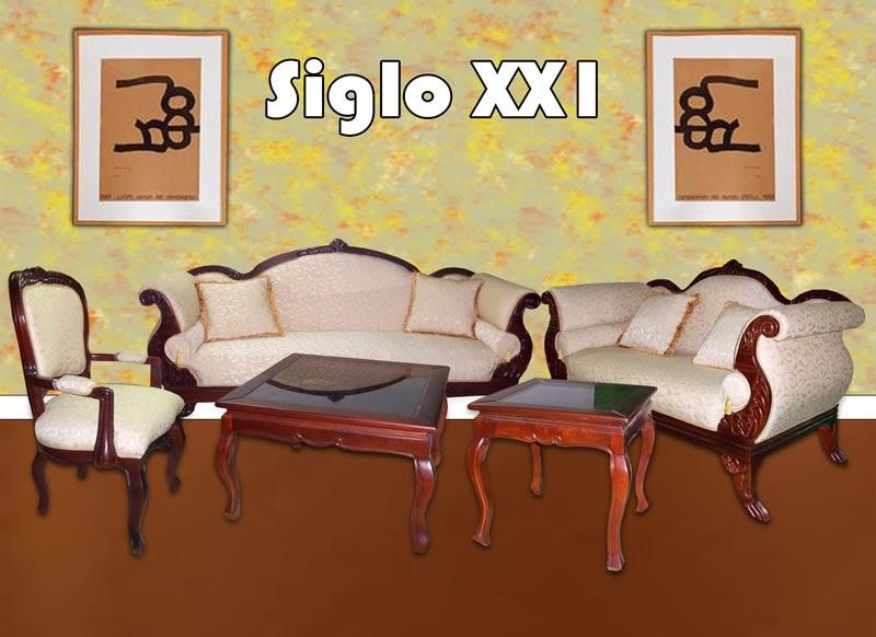 distribuidora suriel juego de mueble siglo xxi