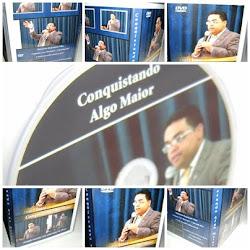 """DVD - """"Conquistando Algo Maior"""""""
