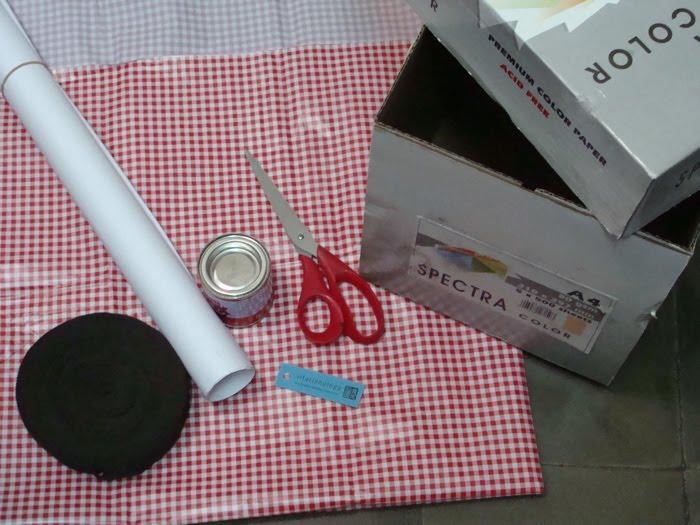 Hari #6: Cara Membuat Kotak Serba Guna Dari Kardus Bekas