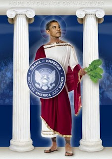 Obama is talking about a god other than himself