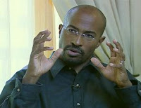 The Green Jobs Czar, Van Jones