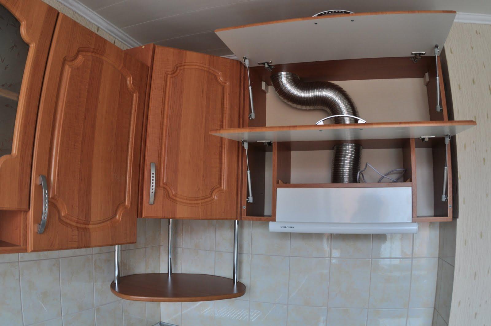 Установка кухонной вытяжки своими руками фото6