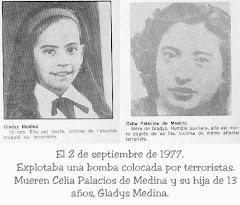 Gladys Medina y Celia Palacios