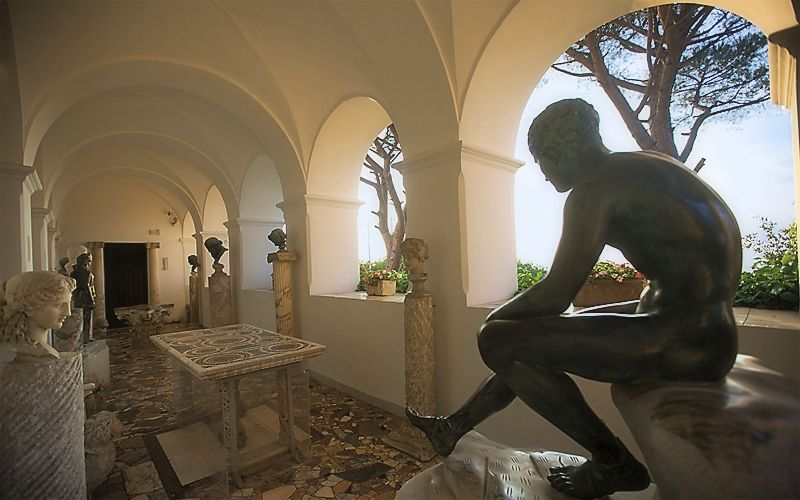 tweedland the gentlemen 39 s club villa san michele capri. Black Bedroom Furniture Sets. Home Design Ideas