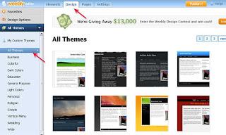 Membuat Website dengan Weebly