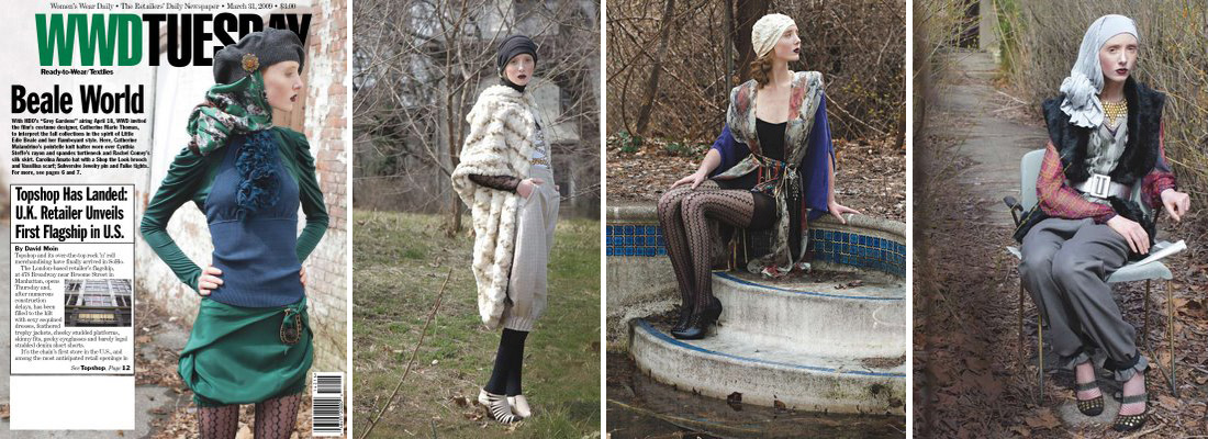 Fine Fettle Fashion Photography Grey Gardens