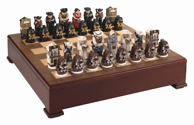 Chess Cowboy Cool Chess Set