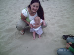 Taylor's 1st trip to the beach :)