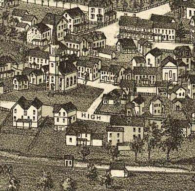 Warwick History & Heritage News: Aerial Views of Warwick Villagewarwick village