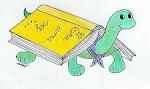 A mascote da Biblioteca Escolar