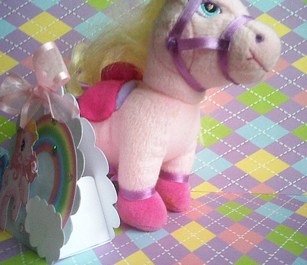 Mara Handmade Cards: My Little Pony Invitación