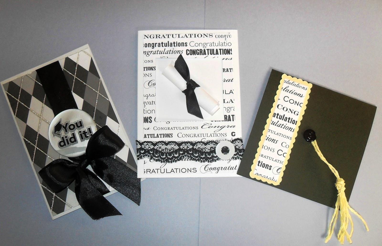 Mara Handmade Cards: Tarjetas de Felicitación para Graduación