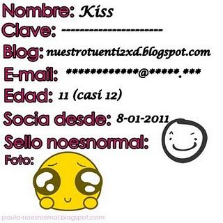 Mi carnet de No es normal!