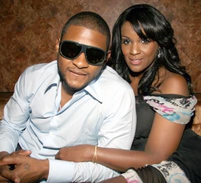 Usher's wife, Tameka Foster