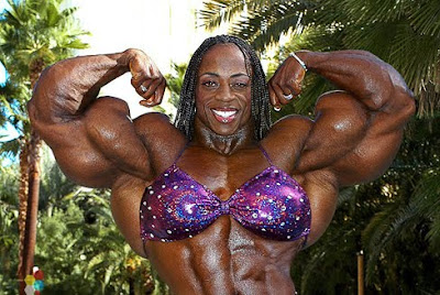 Female Muscle Morphs Iris Kyle IFBB Pro Female Bodybuilder