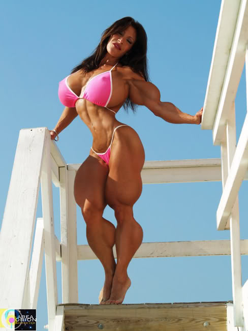 Female Muscle Morphs Nena Cortes