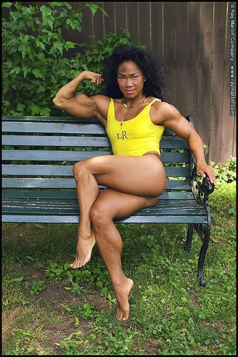 Dawn Riehl Female Muscle WPW