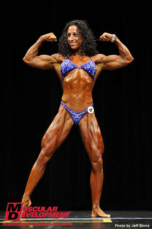 Melissa Dibernardo Female Bodybuilder 2010 Eastern USA