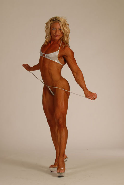 Dena Westerfield Pro Female Bodybuilder Female Muscle