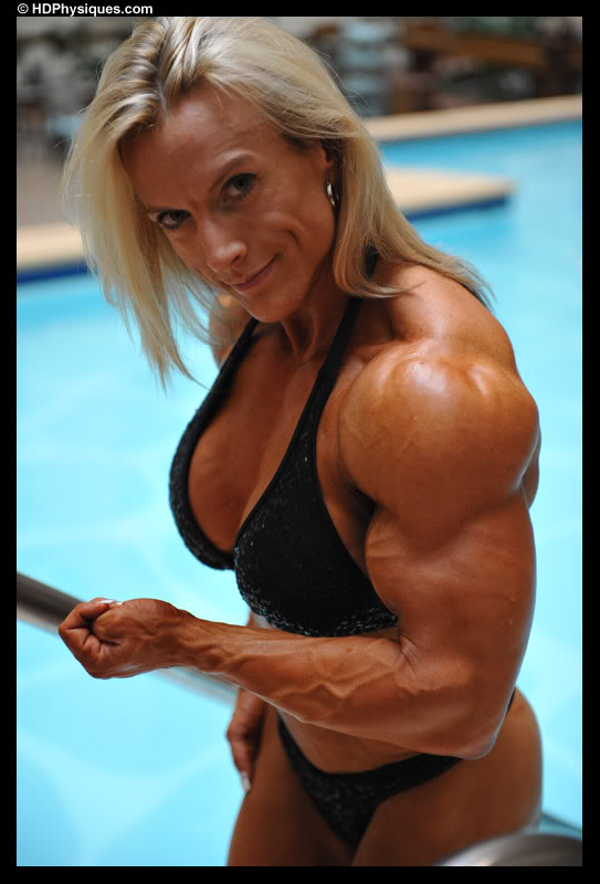 Jody Wald Female Muscle Bodybuilder HDPhysiques