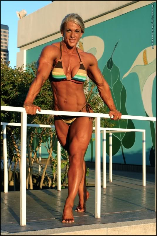 Krissy Murrell Female Muscle Bodybuilder WPWMax
