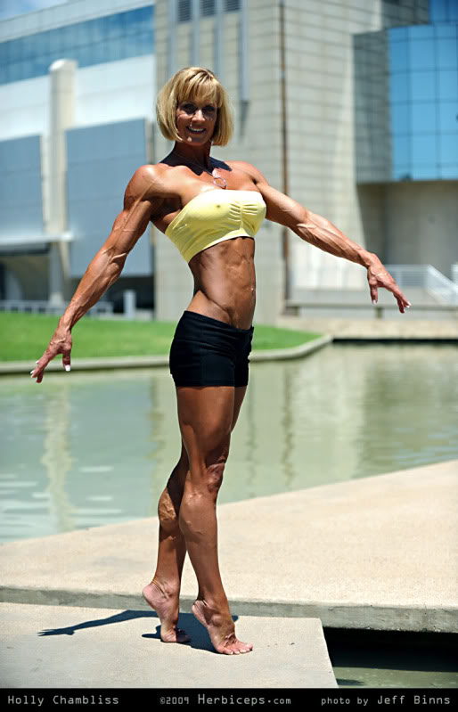 Holly Chambliss Female Muscle Bodybuilder