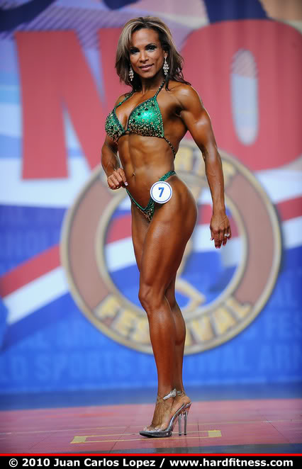 Adela Garcia IFBB Pro Fitness Competitor Female Muscle