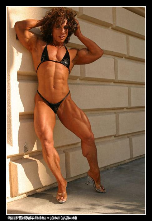 Annie Rivieccio IFBB Pro Female Bodybuilder Muscle