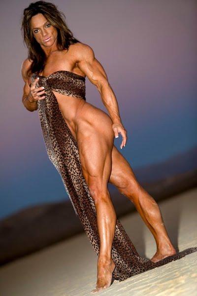 Sheila Bleck IFBB Pro Female Bodybuilder Muscle