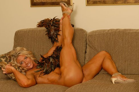 Dena Westerfield Female Muscle Bodybuilder Legs