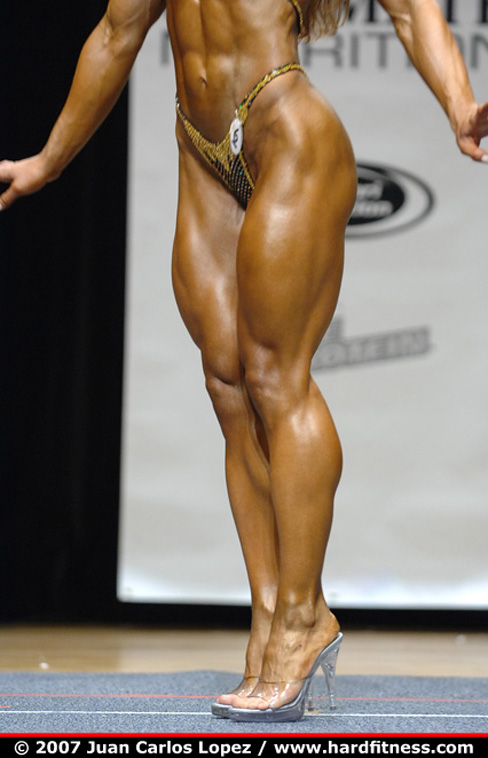 Juliana Malacarne Female Muscle Legs