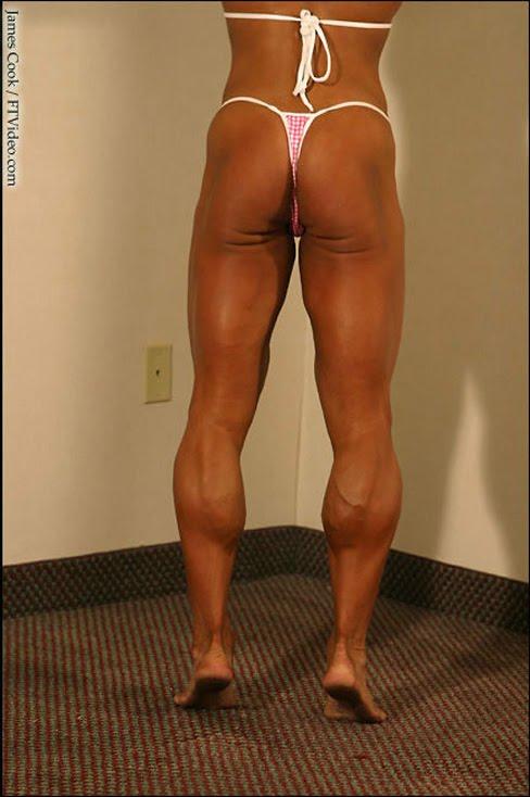 Amanda Dunbar Female Muscle Legs