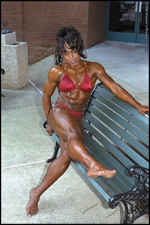 Kim Harris Female Muscle Bodybuilder