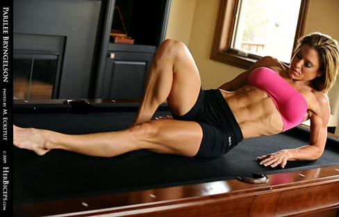 Parilee Bryngelson Female Muscle Abs And Legs HerBiceps