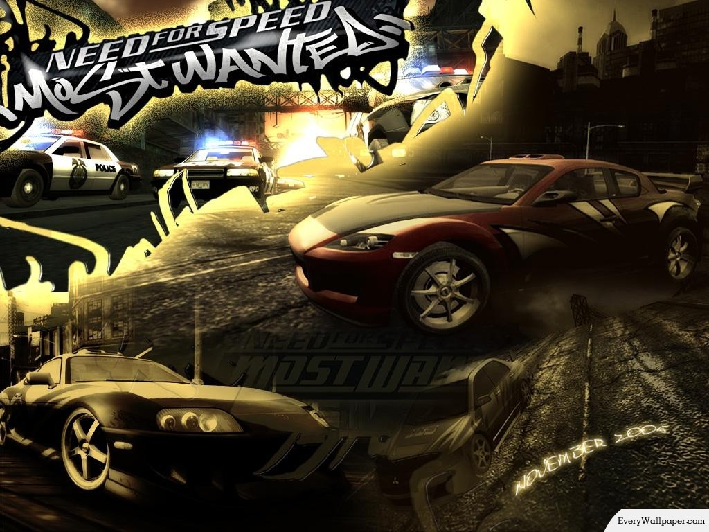 Aclamada Serie Need For Speed Underground Most Wanted