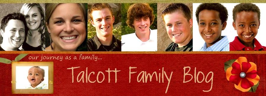 The Talcott Family Blog