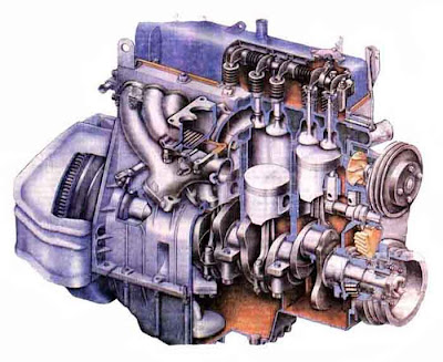 Двигатели умеренно форсированы